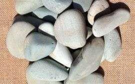Green Pebbles 30-40mm