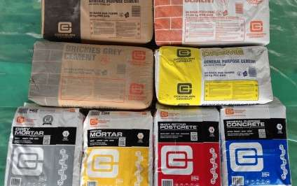 Bagged Cement and Garden Products